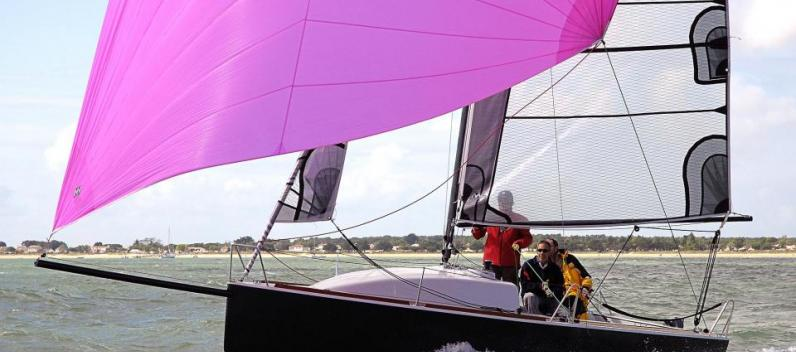 Sailing demo at La Rochelle