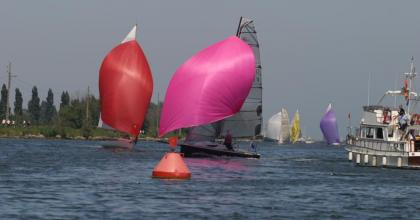 Inland race in Ouistreham