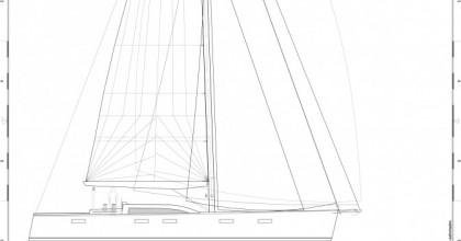 Sabrosa Eole62 sketch sailplan