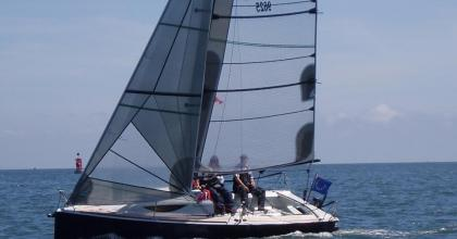 Upwind in summer time